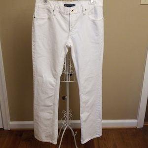 🌹White denim jeans, size 29🛍